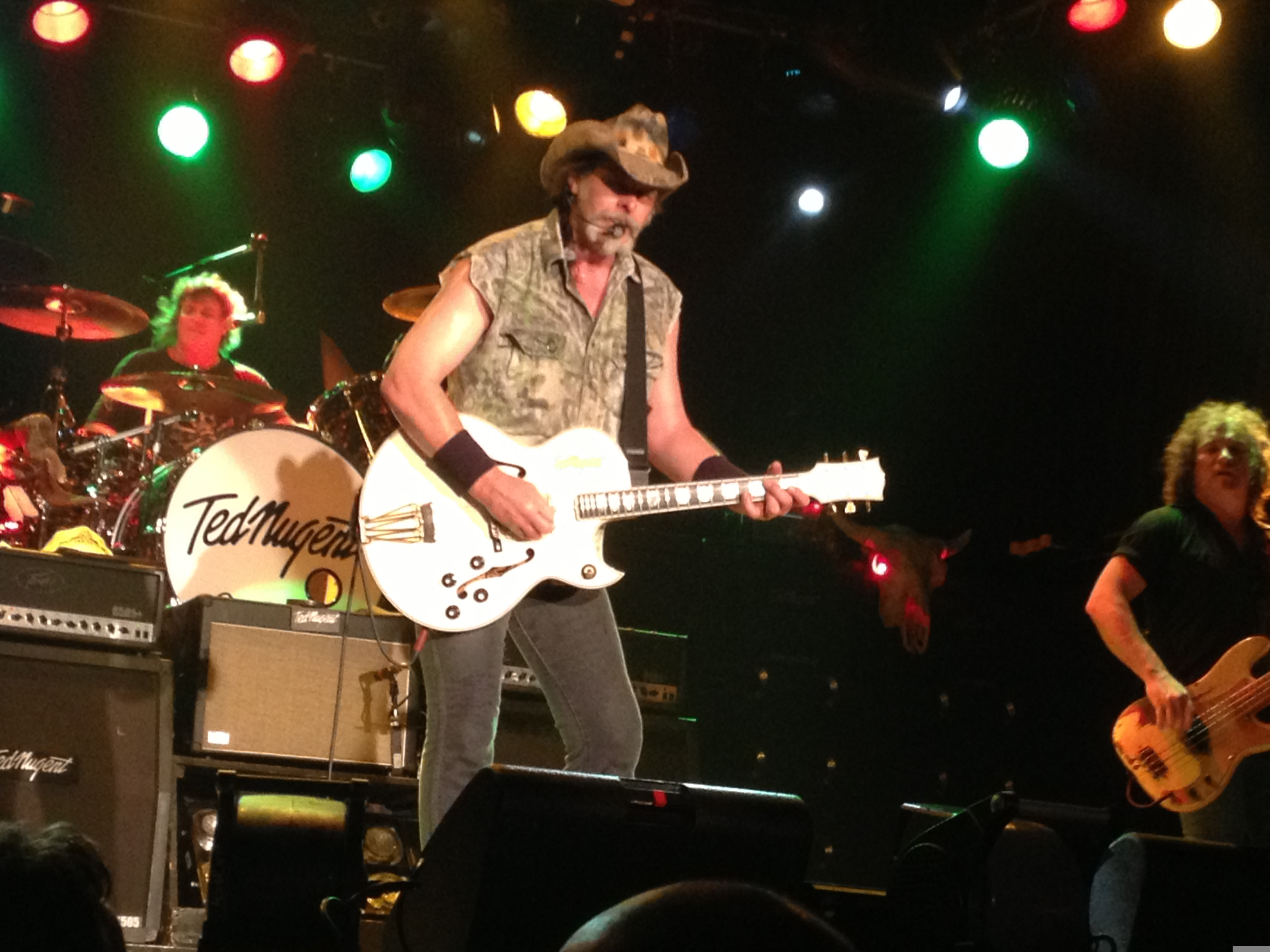Ted nugent and fred bear images thecelebritypix