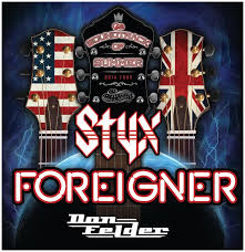 Soundtrack of Summer Tour with Foreigner, Styx and Don Felder