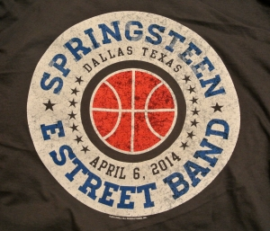 Bruce Springsteen concert t-shirt from March Madness Music Festival