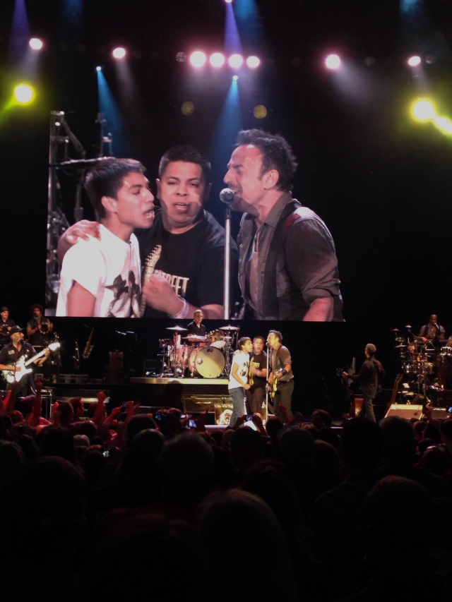 Bruce Springsteen in The Woodlands