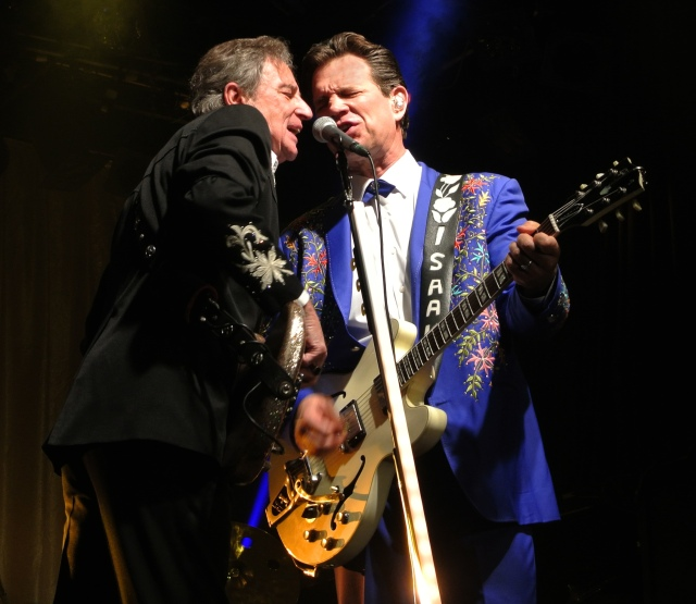 Chris Isaak in concert at Billy Bob's Texas