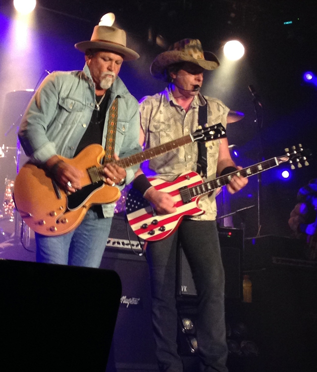 Ted Nugent in concert at Billy Bob's Texas