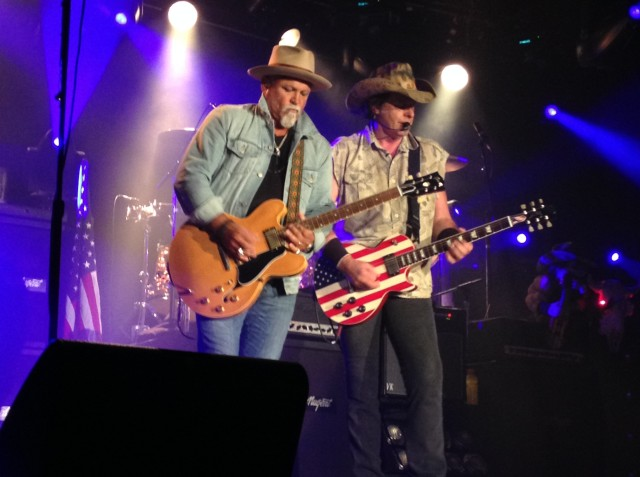 Ted Nugent and Derek St. Holmes at Billy Bob's Texas