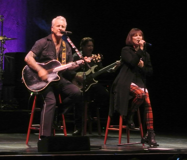 Pat Benatar and Neil Giraldo in concert at Verizon Theatre in Grand Prairie