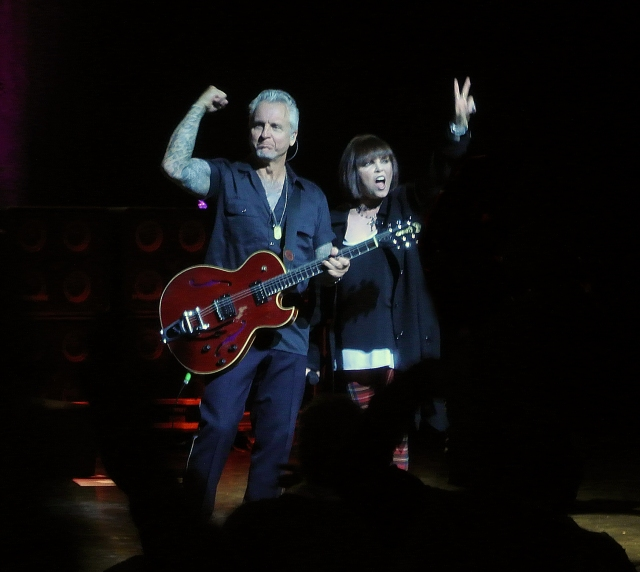 Pat Benatar & Neil Giraldo in concert at Verizon Theatre Grand Prairie