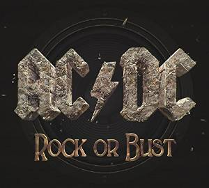Cover of AC/DC album Rock or Bust