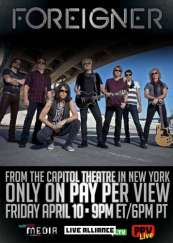 Picture of Foreigner Live in New York