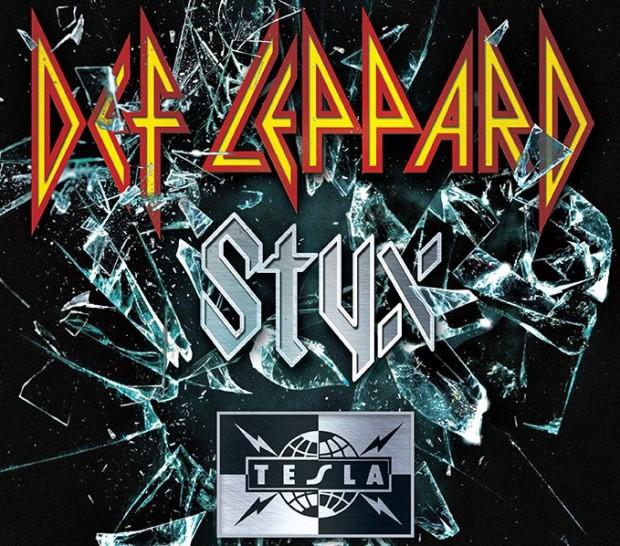 Def Leppard, Styx, Tesla Tour