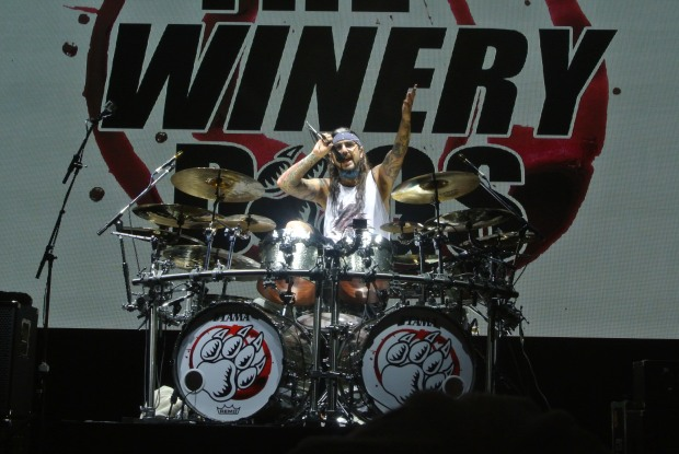 Mike Portnoy of The Winery Dogs at Gas Monkey Live!