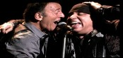 Picture of Bruce Springsteen and Steve Van Zandt in Pittsburgh