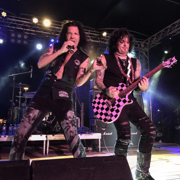 Quiet Riot in concert at Gas Monkey